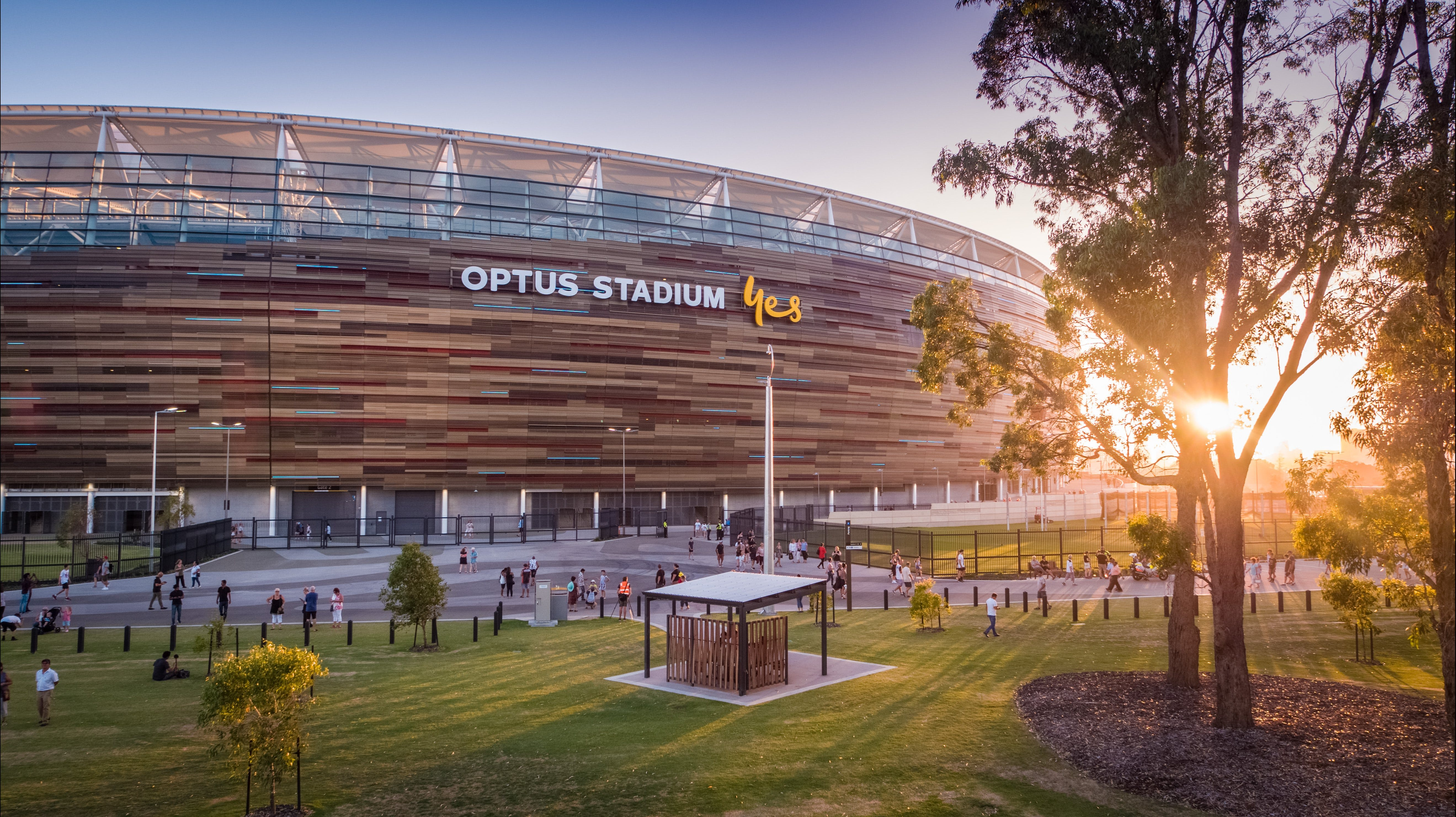 Optus Stadium - Geraldton Accommodation