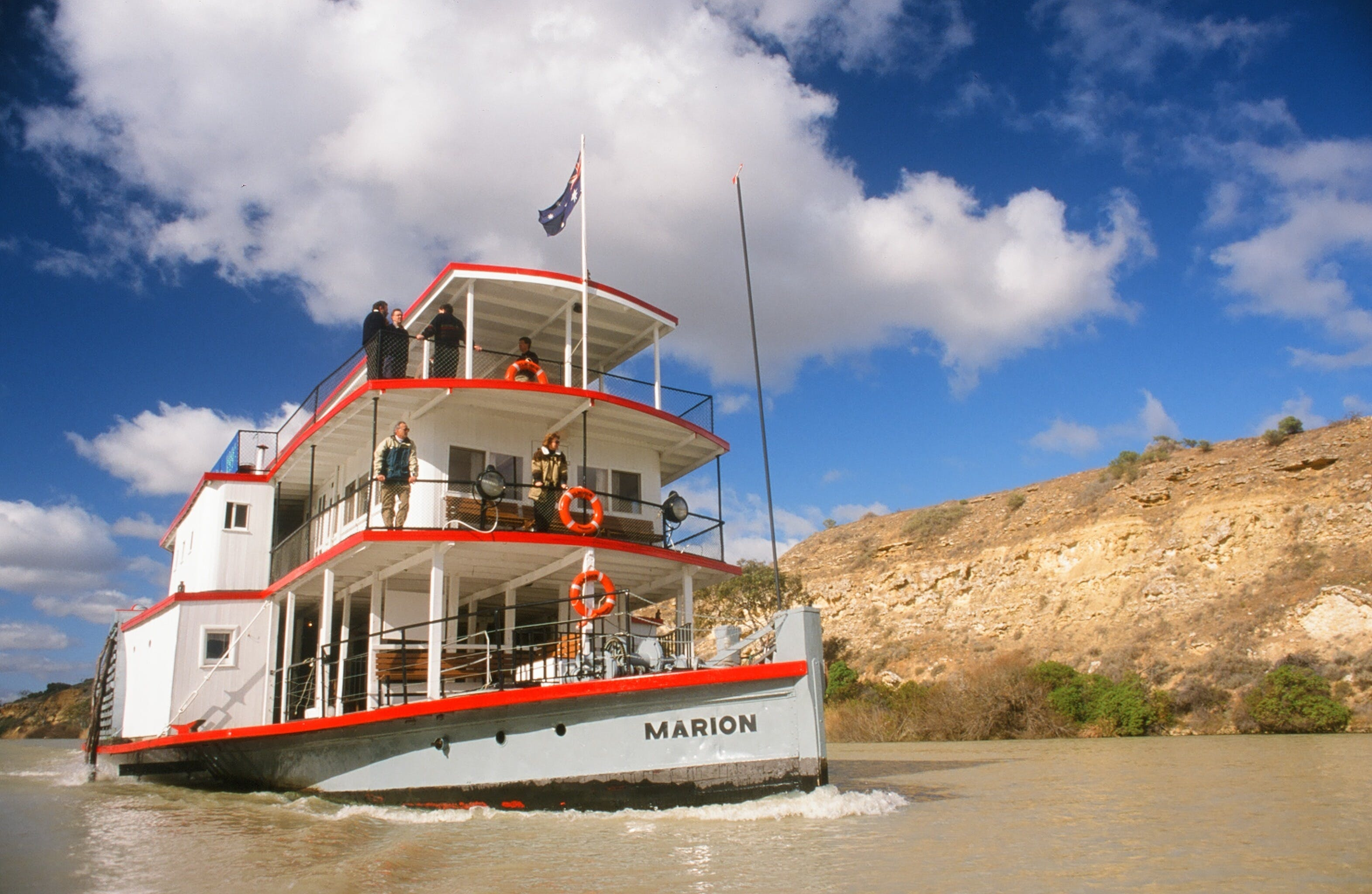 PS Marion Short Cruises - all cruises cancelled until further notice - Geraldton Accommodation