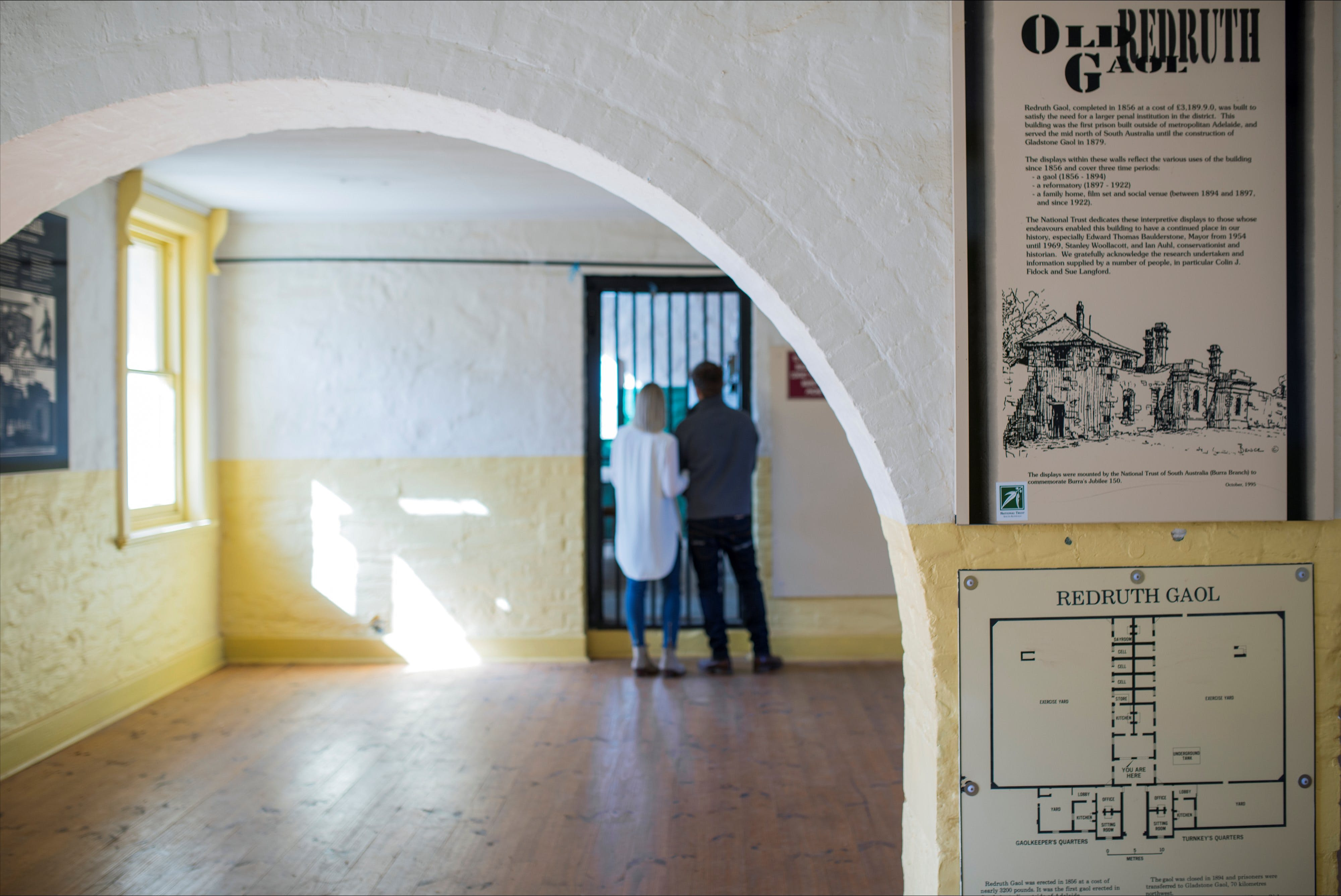 Redruth Gaol - Geraldton Accommodation