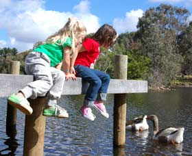 Vasse River and Rotary Park - Geraldton Accommodation