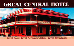 Great Central Hotel - Geraldton Accommodation