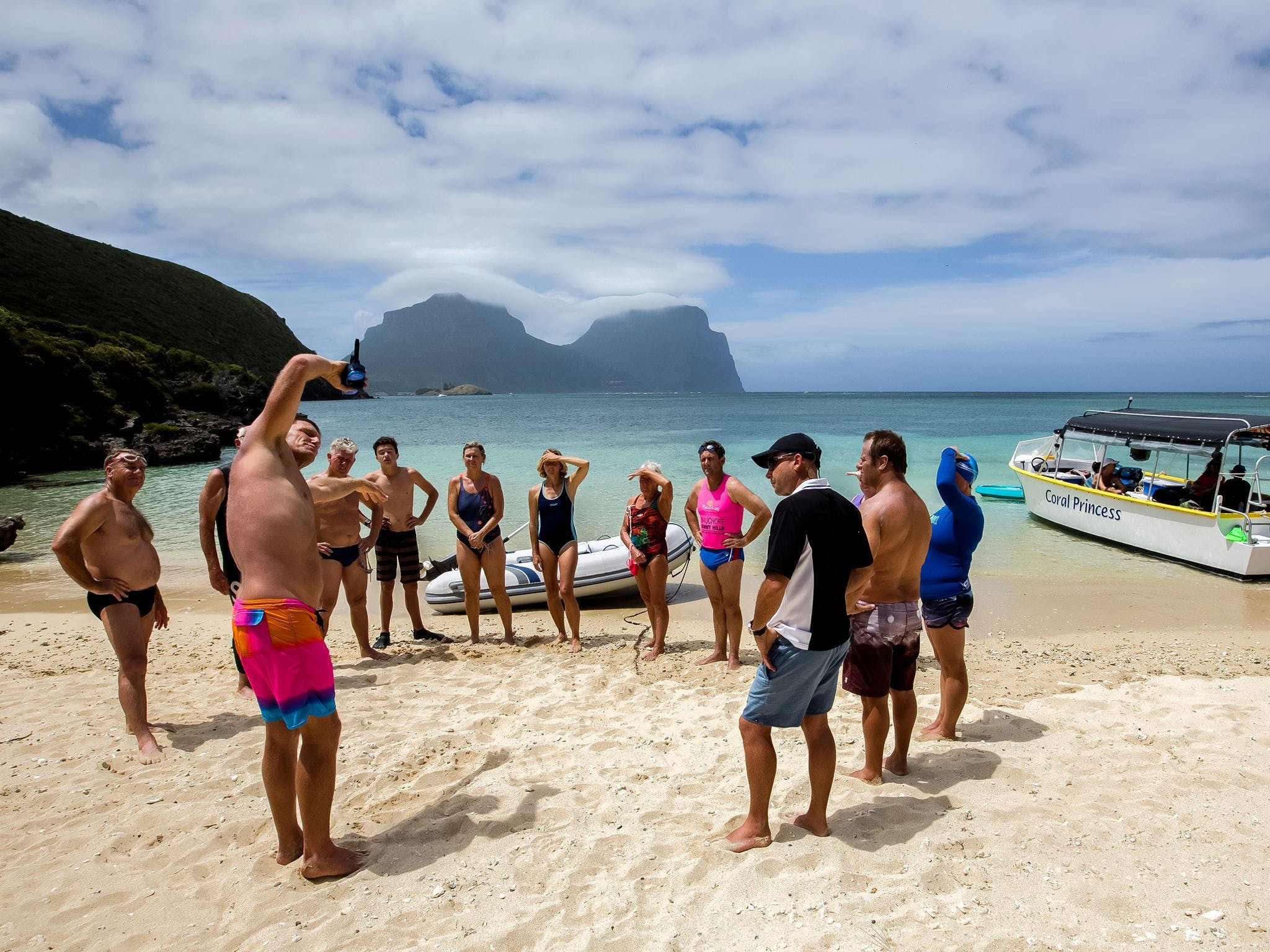 Ocean Swim Week with Trevor Hendy Pinetrees Lord Howe Island - Geraldton Accommodation