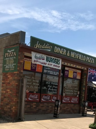 Stoddies Diner  Heyfield Pizza - Geraldton Accommodation