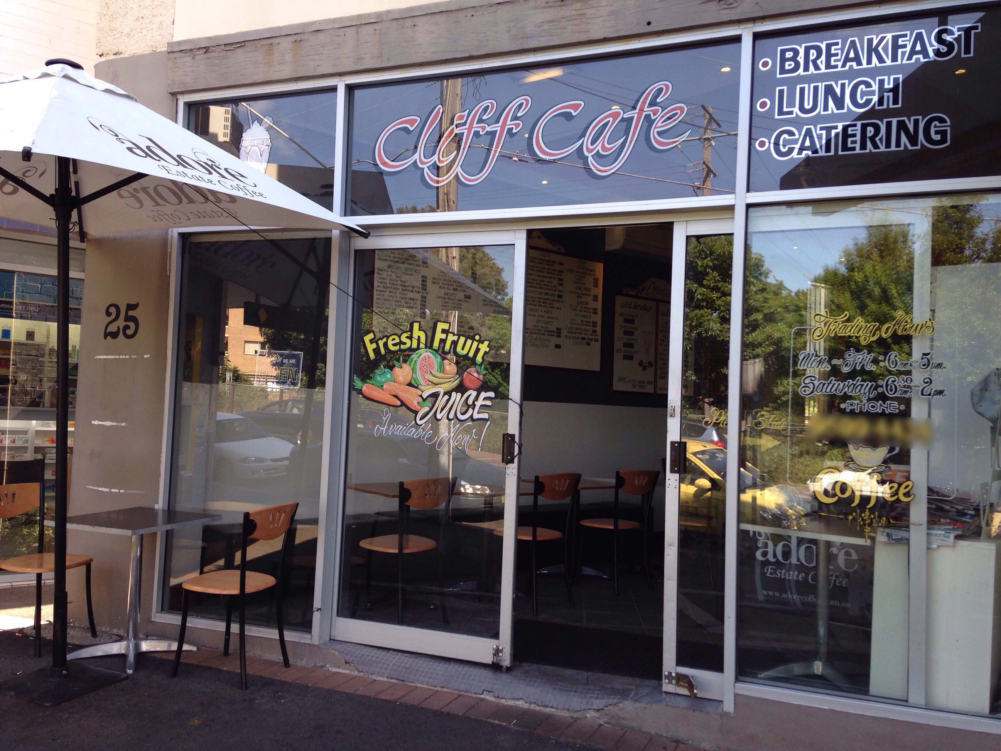 Cliff Cafe - Geraldton Accommodation