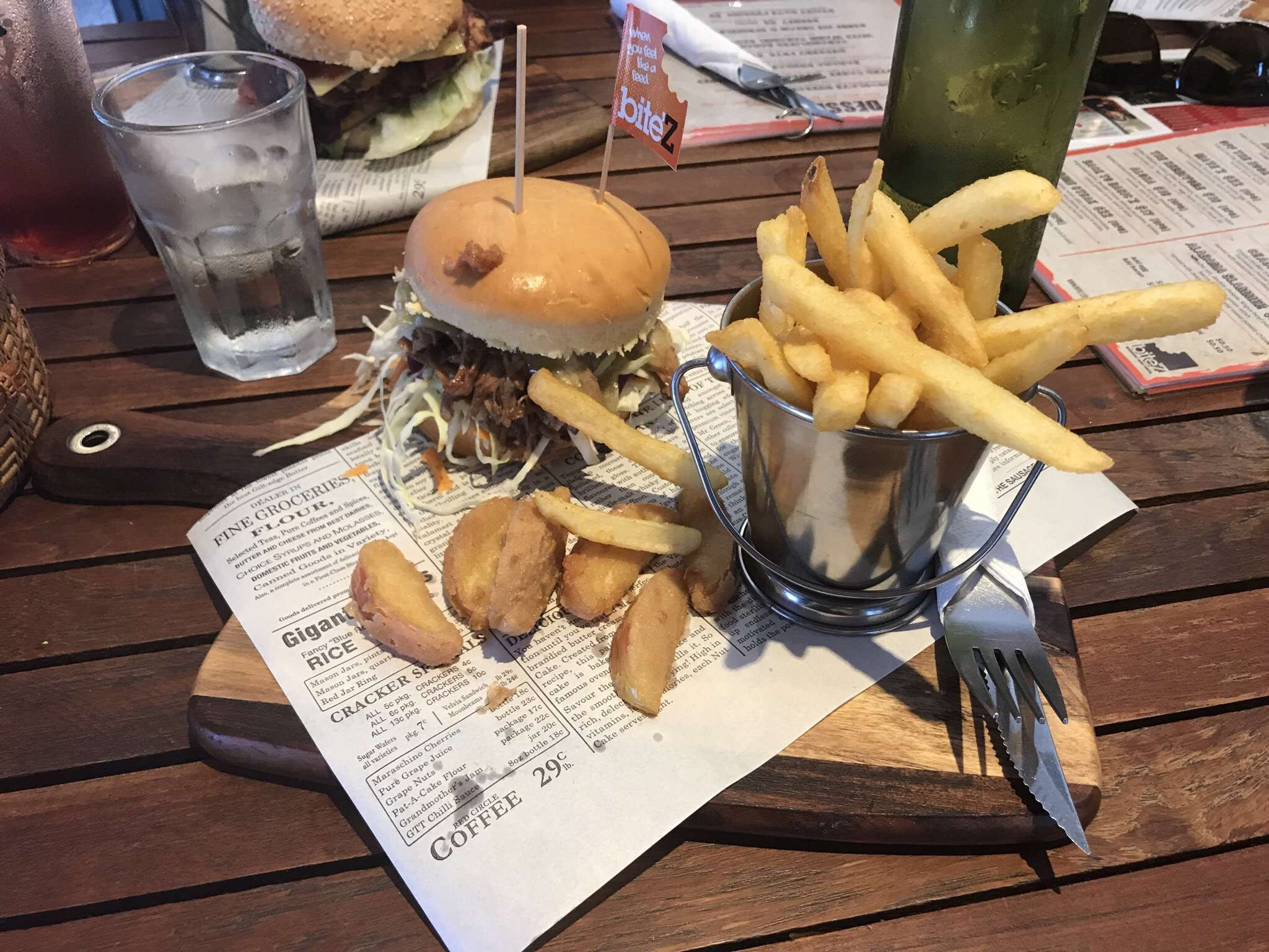 Bite'Z  Burgers Bar Grill - Geraldton Accommodation