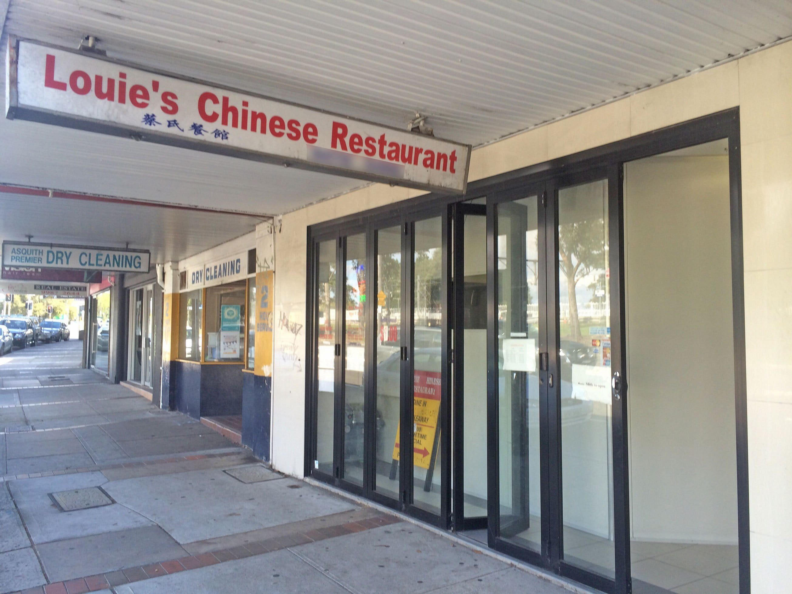 Louie's Chinese Restaurant - Geraldton Accommodation