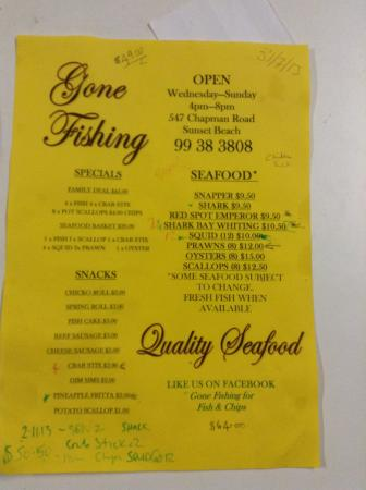Gone Fishing for Fish and Chips - Geraldton Accommodation