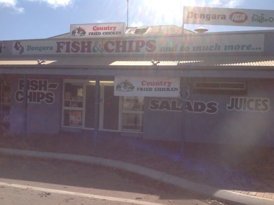 Dongara Fish  Chips - Geraldton Accommodation