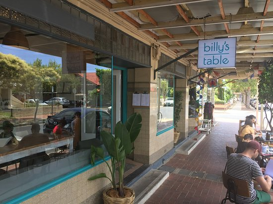 Billy's Table - Geraldton Accommodation