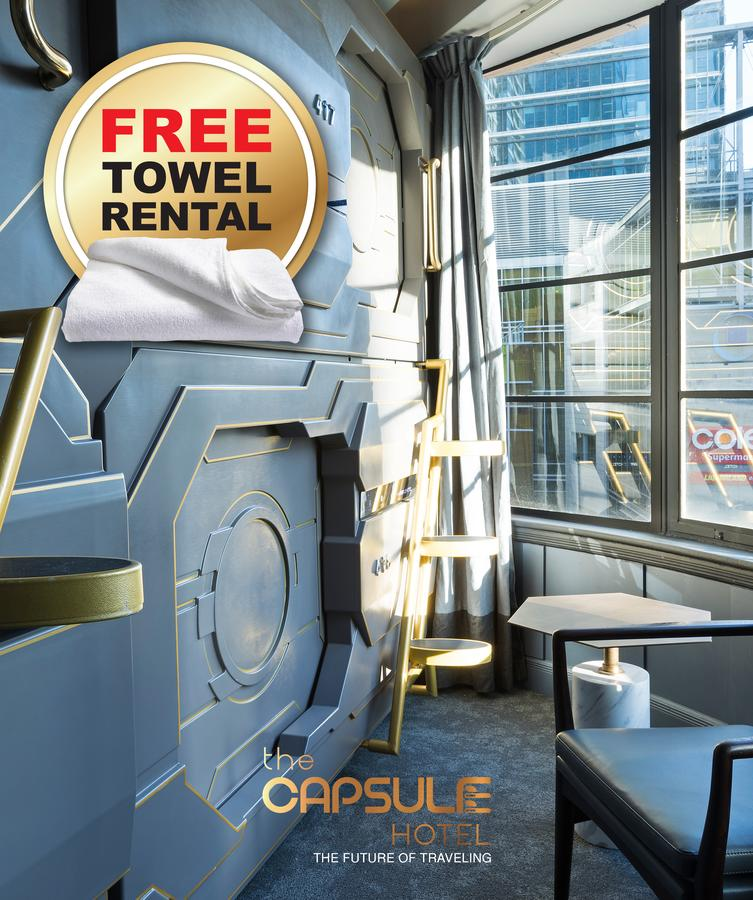 The Capsule Hotel - Geraldton Accommodation