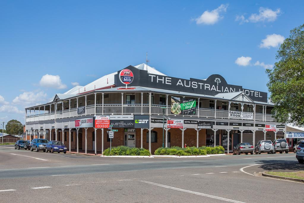 The Australian Hotel Murgon - Geraldton Accommodation